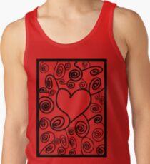 Abstract love art Tank Top