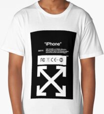 Off-White IPhone Case Long T-Shirt