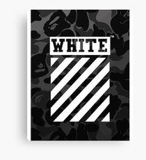 Lienzo Camuflaje blanco roto