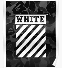 Off-White Bape Camo Poster