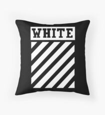 Black by Off-White Throw Pillow