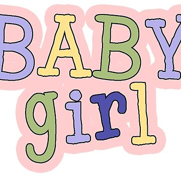 Baby Girl Word Art by Whimsydesigns