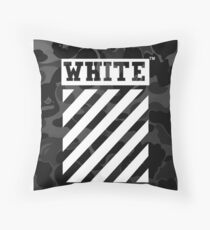 Off-White Bape Camo Throw Pillow