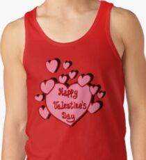 Valentines card Tank Top