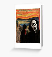 The Scream: Featuring Scream Greeting Card