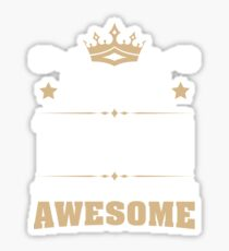 July 1949 70 Years Of Being Awesome Sticker