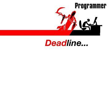 Funny Programmer vs. Deadline Soul Taker by WeeTee