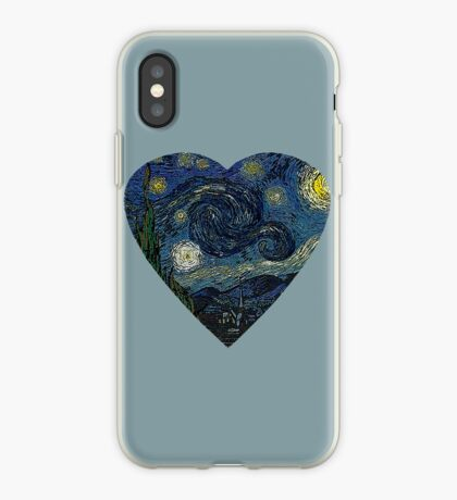 The Starry Night Heart iPhone Case