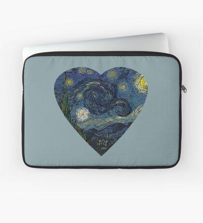 The Starry Night Heart Laptop Sleeve