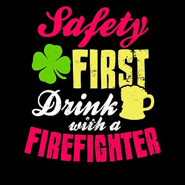 Irish Firefighter Shirt | St. Patricks Day Gift by IsiTees