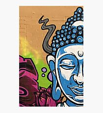 Buddha's Wall Photographic Print