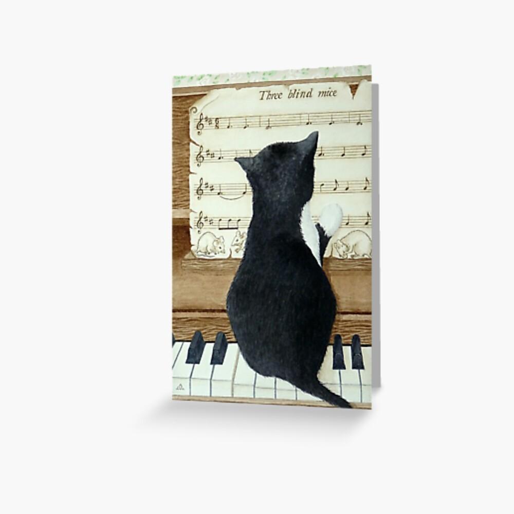 Nenne diese Melodie! Grußkarte