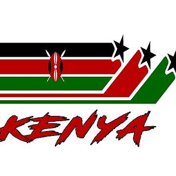 Kenya Flag / Kenya Gift National Flag by Rocky2018