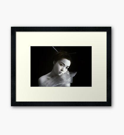 Yurei Framed Print