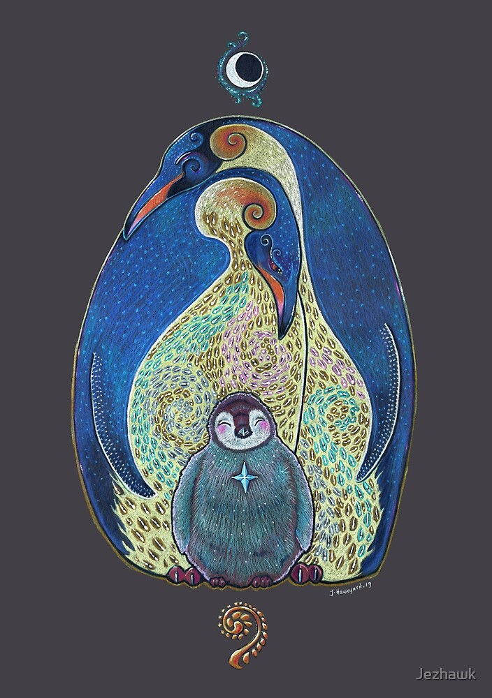 Penguin Totem  by Jezhawk