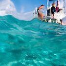 Stingrays under the boat by muzy