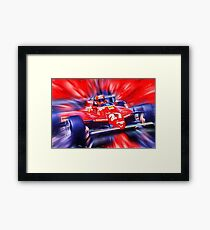 Canadian Race Legend Gilles Villeneuve Framed Print