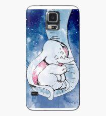 Dumbo et sa mère, mère et bébé éléphant Coque et skin Samsung Galaxy