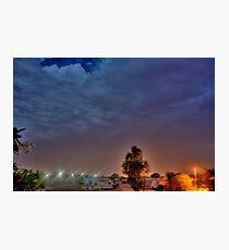 Trailer Park Nights Photographic Print