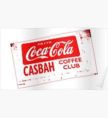 Casbah Red Poster