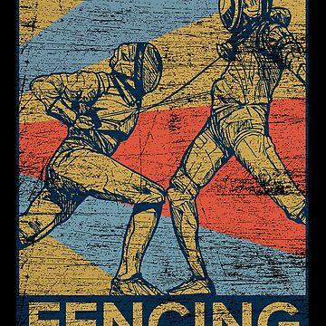 Fencing hobby by GeschenkIdee