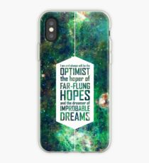 Dreamer of Improbable Dreams iPhone Case