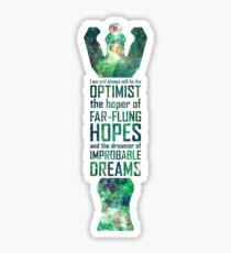 Dreamer of Improbable Dreams Sticker