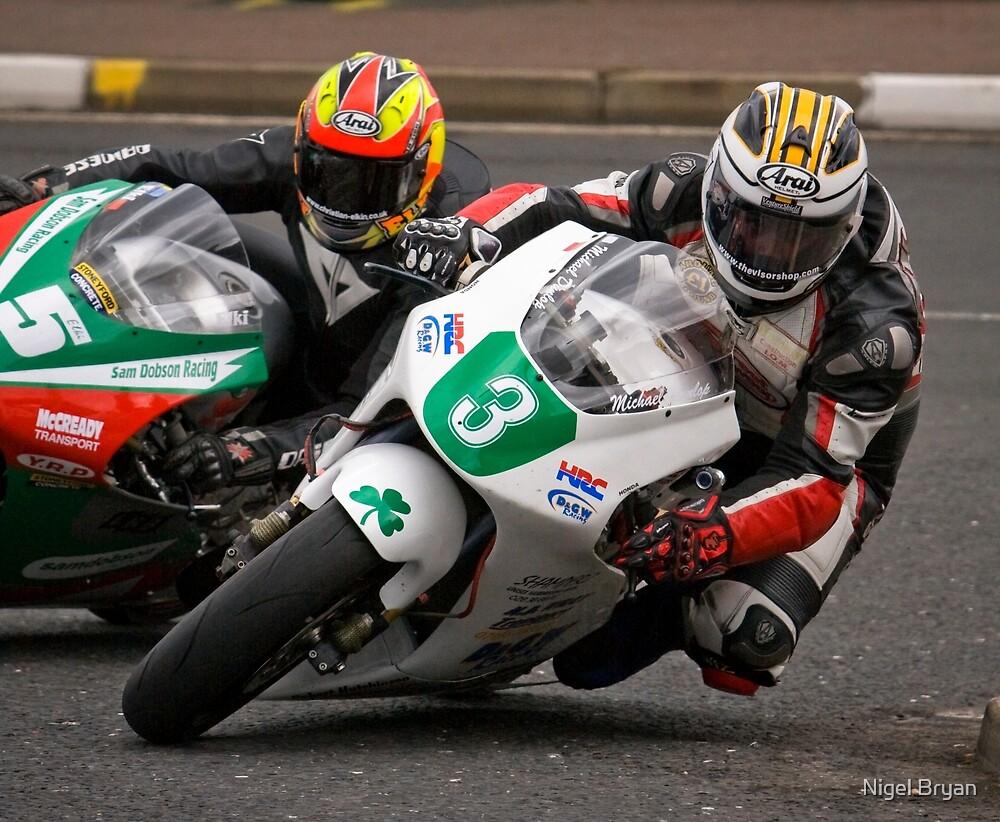 Micheal Dunlop @ NW200, 2009 by Nigel Bryan