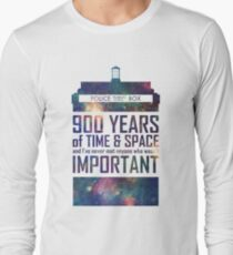 900 Years of Time and Space Long Sleeve T-Shirt