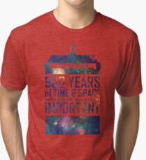 900 Years of Time and Space Tri-blend T-Shirt