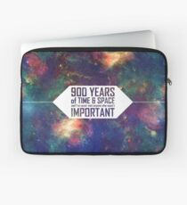900 Years of Time and Space Laptop Sleeve