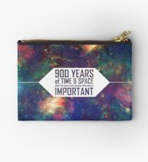 900 Years of Time and Space Studio Pouch