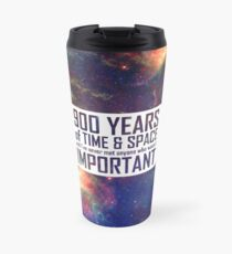 900 Years of Time and Space Travel Mug
