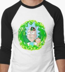 Rick and Morthy  Baseball ¾ Sleeve T-Shirt
