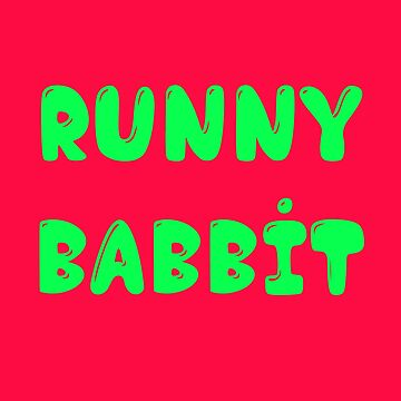 Runny Babbit by monjiiart