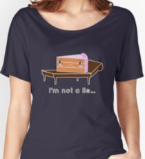 The cake is not a lie. Women's Relaxed Fit T-Shirt