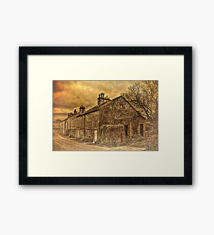 More Downham Cottages Framed Print