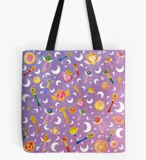 Sailor Moon Transformation Item pattern Tote Bag