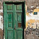 Sign of the Times - Green Door by Kasia-D