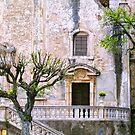 Taormina church detail II by Silvia Ganora