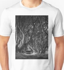 Dark Hedges, Co. Antrim, N. Ireland Unisex T-Shirt