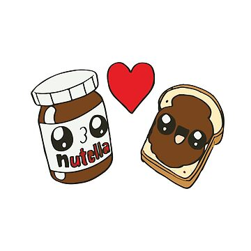 ★ Kawaii Nutella by cadcamcaefea