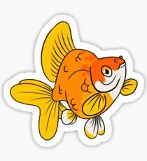Fancy Goldfish - Ryukin Sticker