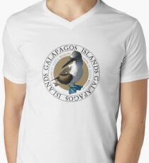 Galapagos Islands Blue footed Booby Men's V-Neck T-Shirt