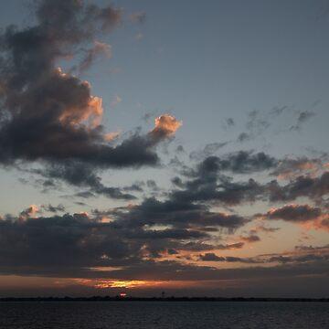 Sunset off Key West, FL by gerdagrice