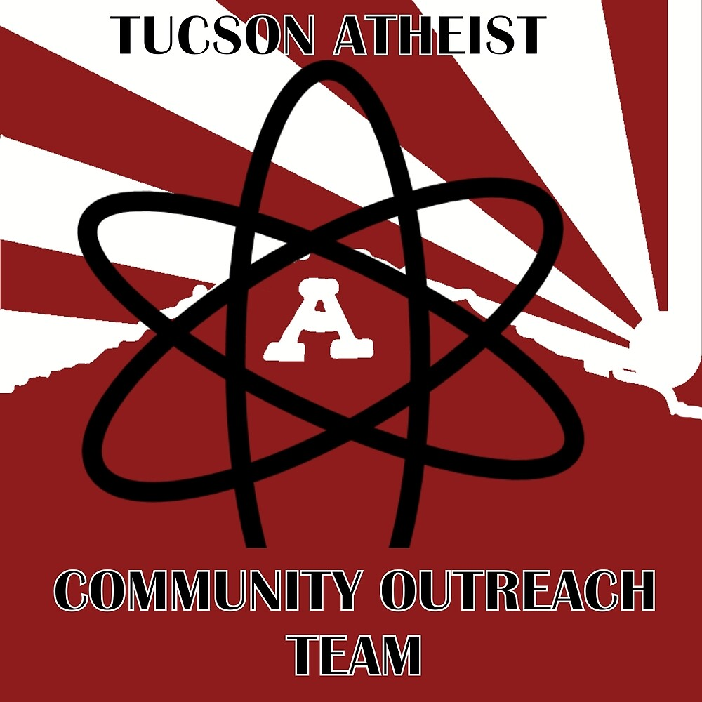 Tucson Atheists Community Out Reach Team Logo by TACOTeam2016