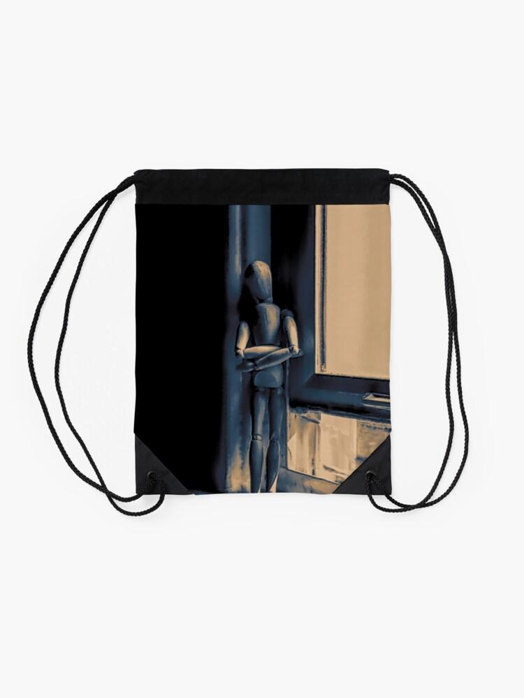 Alternate view of isolation Drawstring Bag