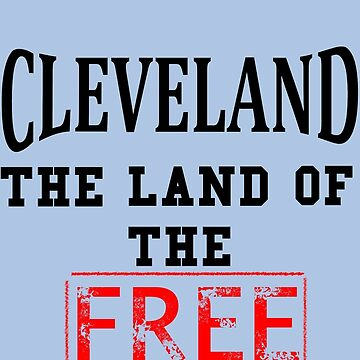 Cleveland Free Stamp by CryogenicNixon
