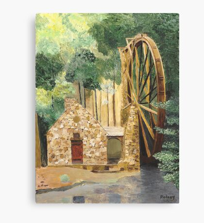 Old Mill at Berry College Canvas Print