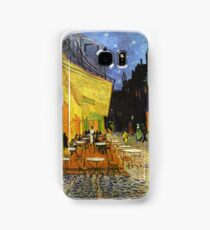 Vincent Van Gogh Cafe Terrace At Night Samsung Galaxy Case/Skin